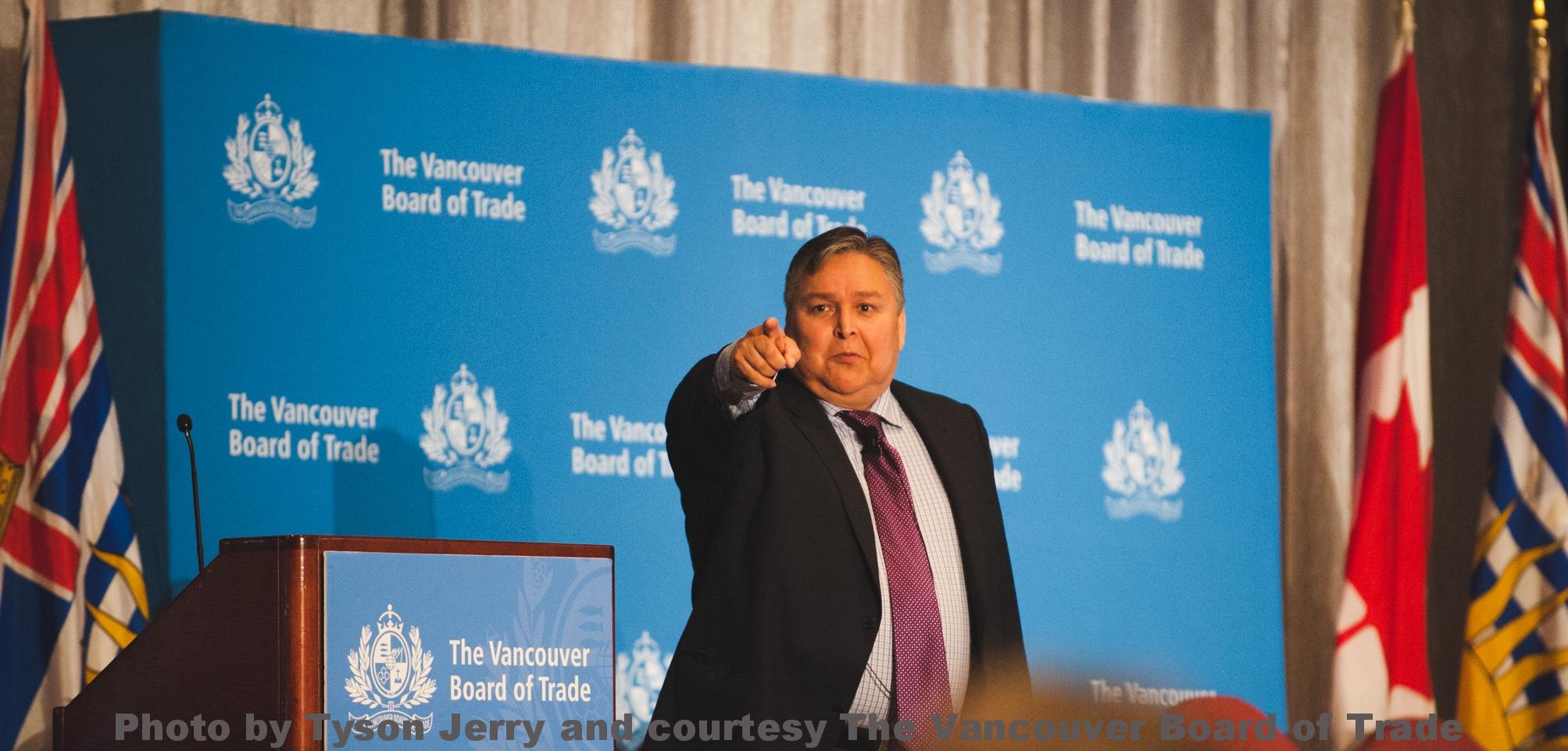 Bob Joseph Vancouver Board of Trade