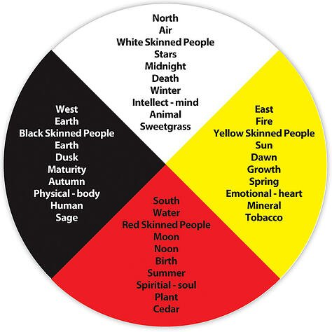 Image result for the medicine wheel