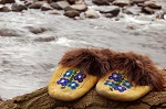 empty moccasins
