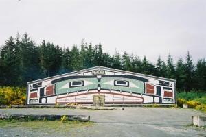 Aboriginal self government house AKA Alert_Bay_Bighouse