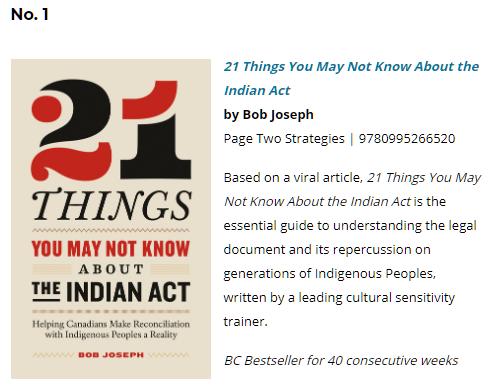 #1 BC Bestsellers July 7