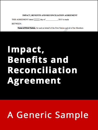 Impact, Benefits and Reconciliation Agreement