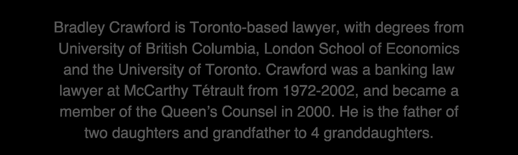 Bradley crawford Biography
