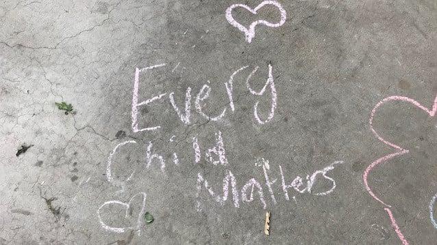 Every child matters vigil for 215 children