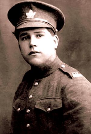 Edwin V. Cook Indigenous veteran