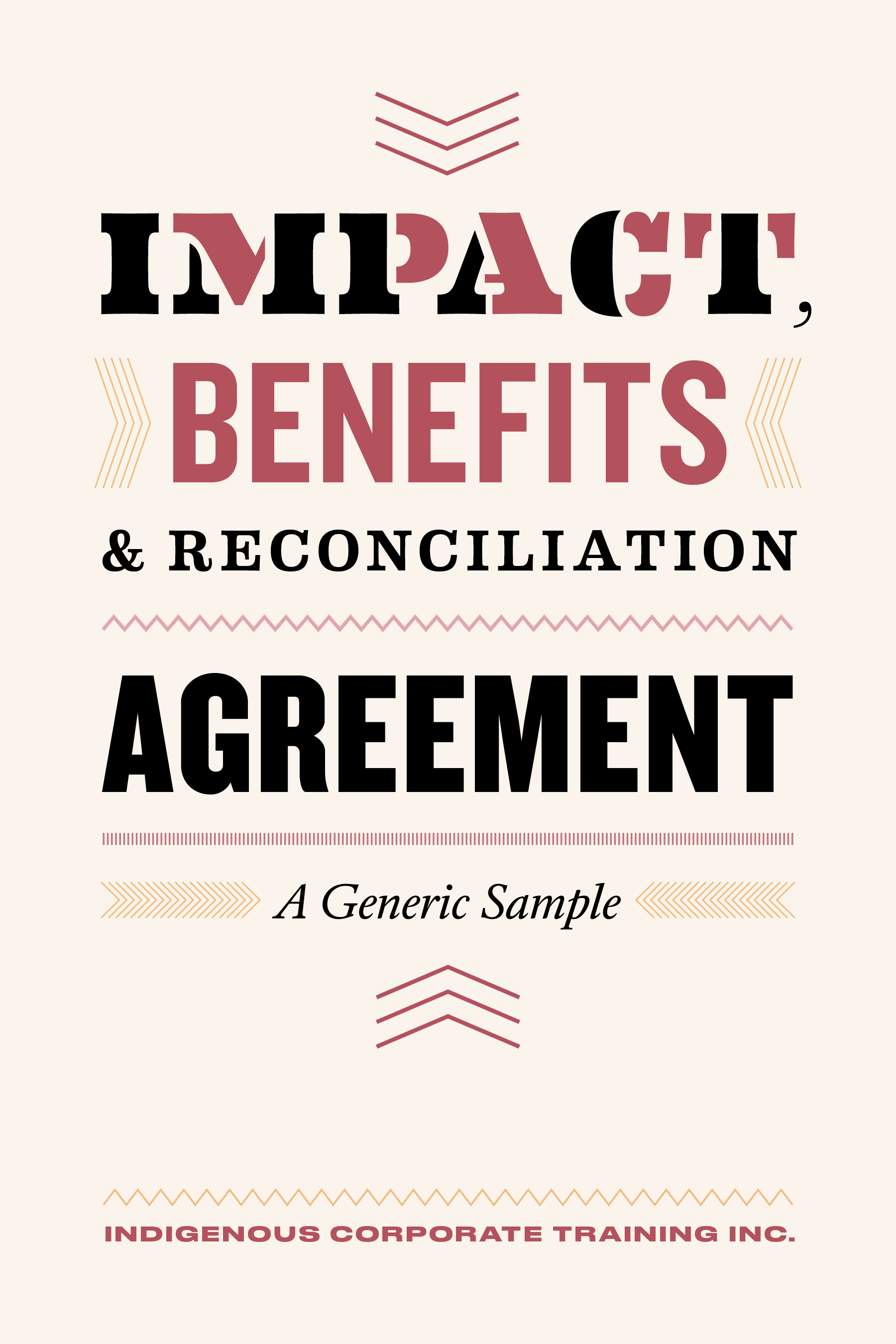ICTI eBookCovers_F_11_Impact Benefits & Reconciliation Agreement_FINAL
