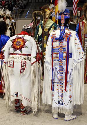 Senior Pow Wow Dancers