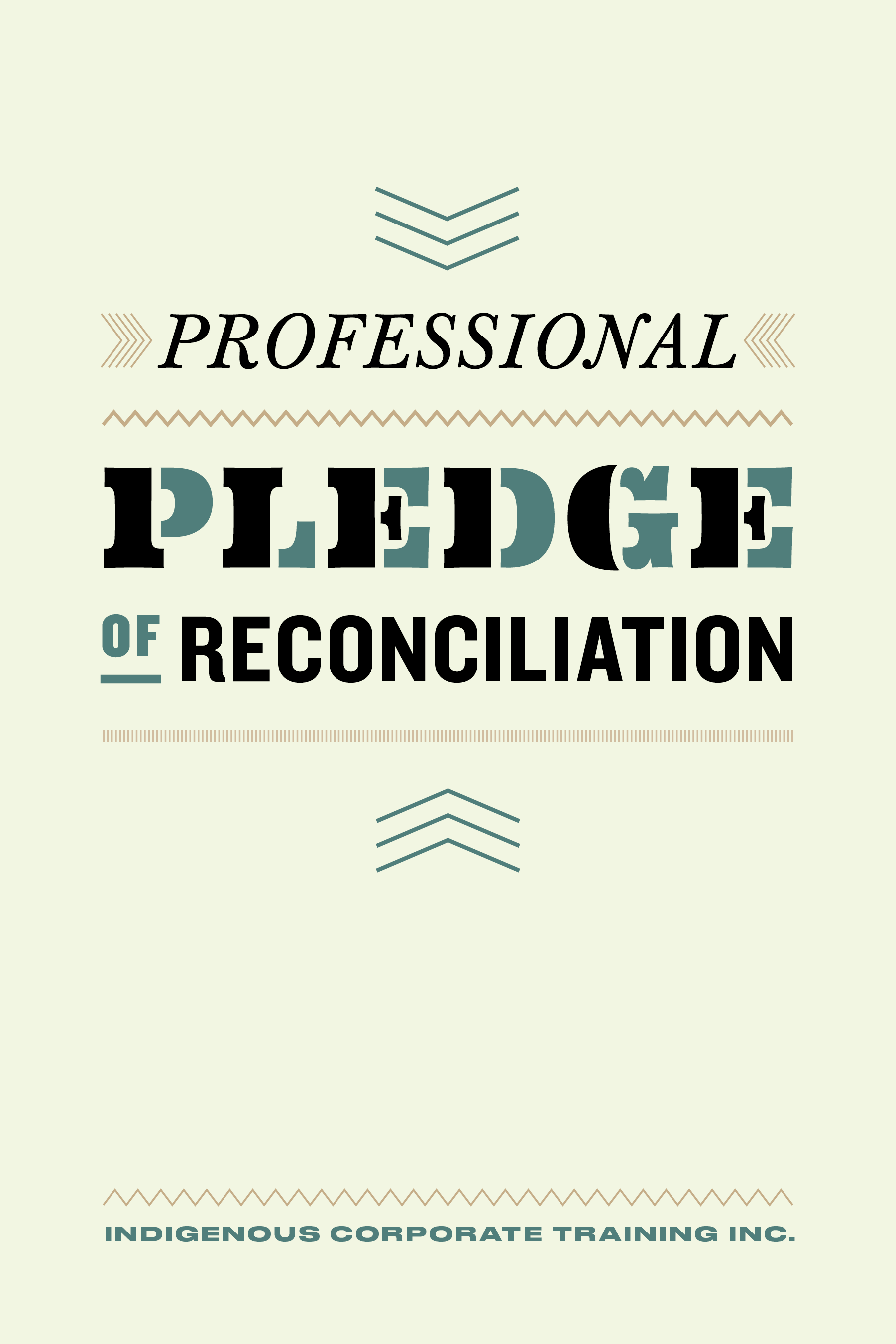 ICTI eBookCovers_F_14_Professional Pledge of Reconciliation_FINAL