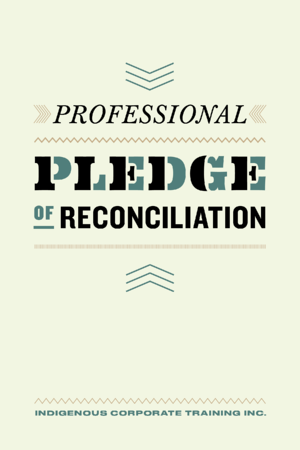 Professional Pledge of Reconciliation