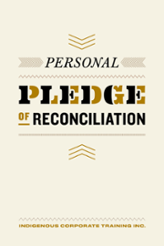 Your Personal/Professional  Pledge of Reconcilation